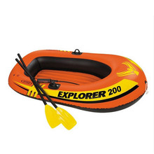 2018 Hot-sale Intex 58331 58332 Inflatable Raft Explorer Boat 200 300 Set Inflatable Fishing Boat