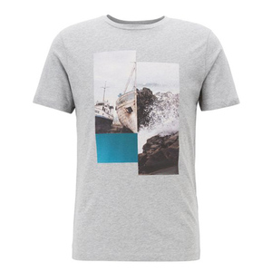 Men's short sleeve graphic tees t shirt