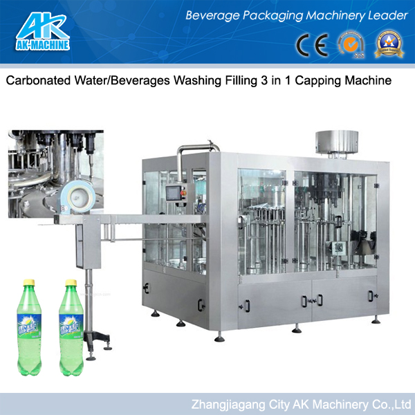 Well!Soda Water Complete Plant Carbonated Water Filling Machine With Nice Quality