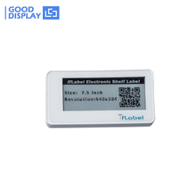 supermarket price tags ESL system Electronic shelf labels Bluetooth beacon