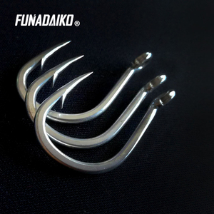 FUNADAIKO quality jigging hooks fishing tackle high carbon steel fishhook