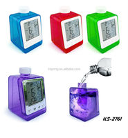 Promotional Item New product eco-friendly water power clock