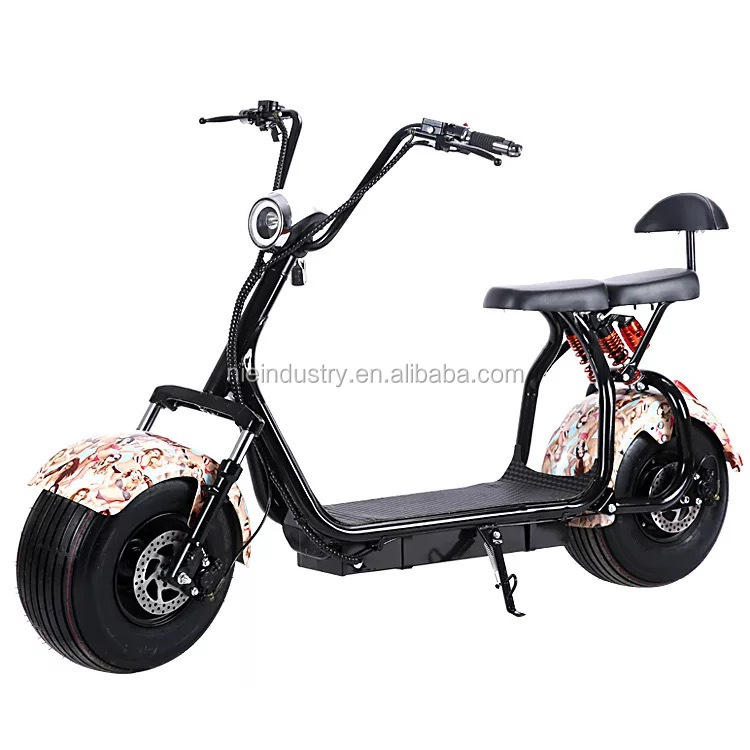48V 1000W citycoco Beach dropshipping Electric scooter