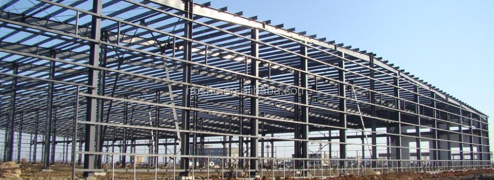 Low cost prefab steel structure storage building buy for Cost of building a roof