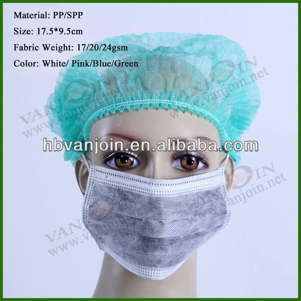 Disposable Nonwoven Active Carbon Protective Mask