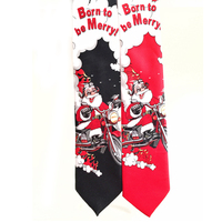 funny kids cheap Christmas cartoon cooling neck ties