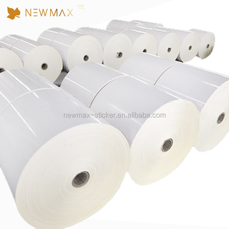 Factory Price High Glossy Large Sticker Paper Jumbo Roll