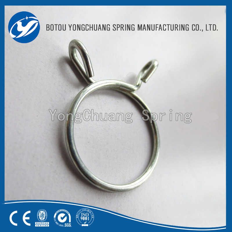 2016 Vehicle Metal Single Wire Spring Hose Tube Clamp Clip in China