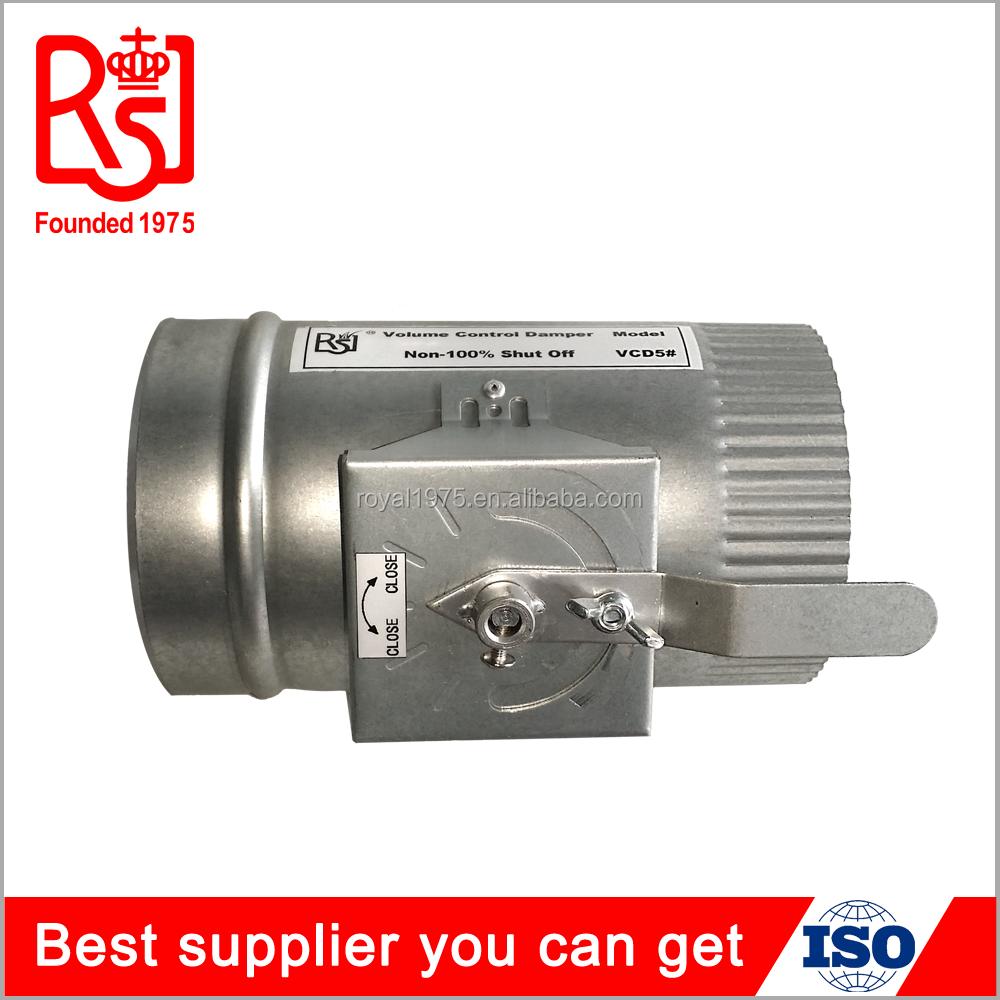 Air duct damper Manual