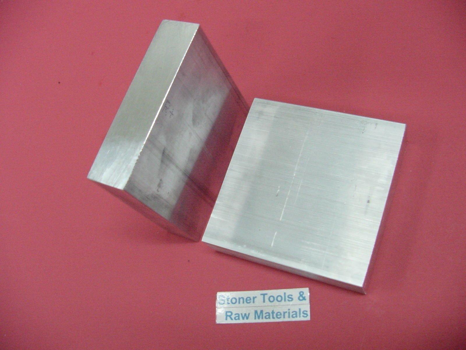 "4 Pieces 1//2/"" X 3-1//2/"" ALUMINUM 6061 FLAT BAR 5/"" long T651 .50/"" Solid Mill Stock"
