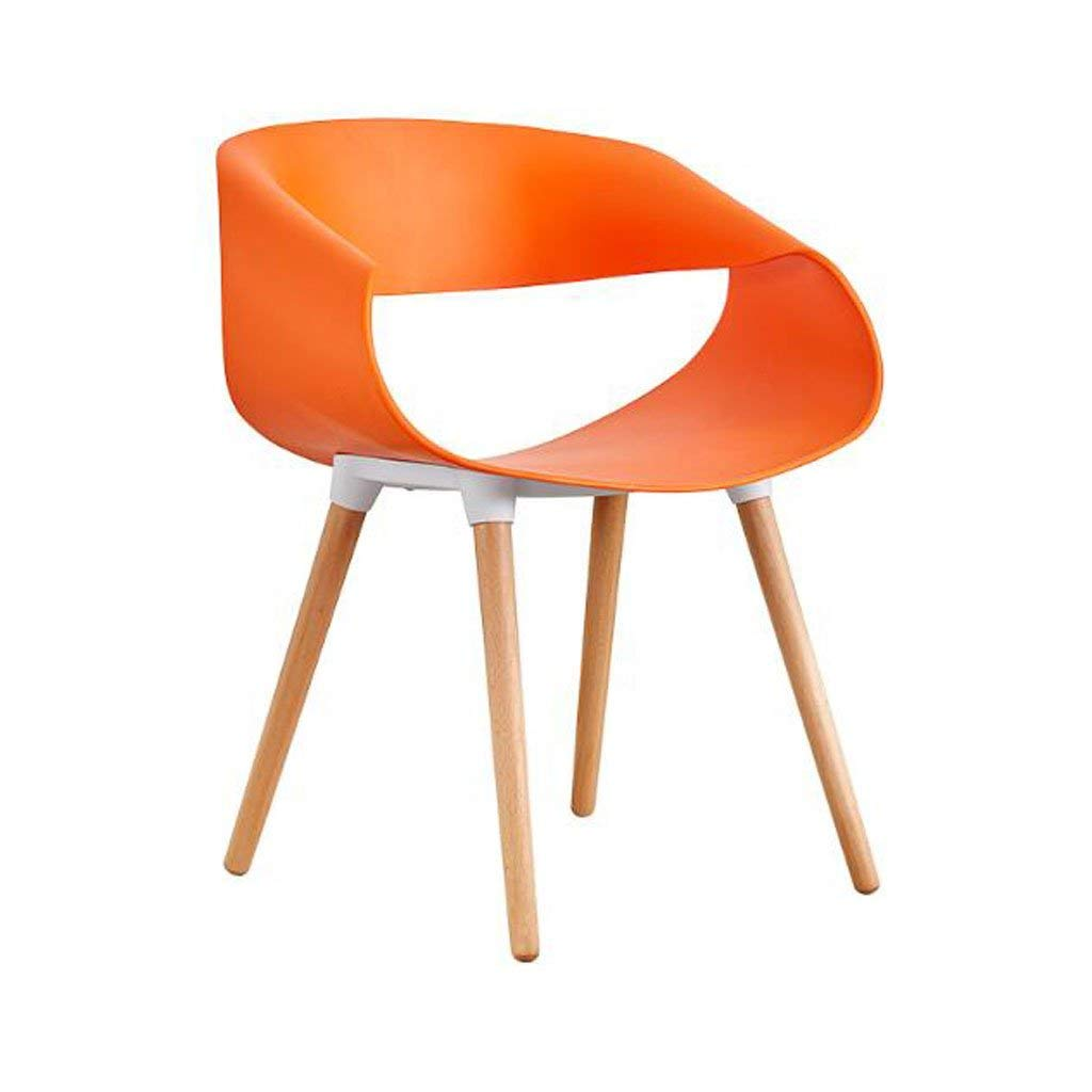 LQQFF Solid Wood Dining Chair, Modern Minimalist Chair, Computer Chair, Casual Fashion Office Chair. - Dining Chair (Color : C)