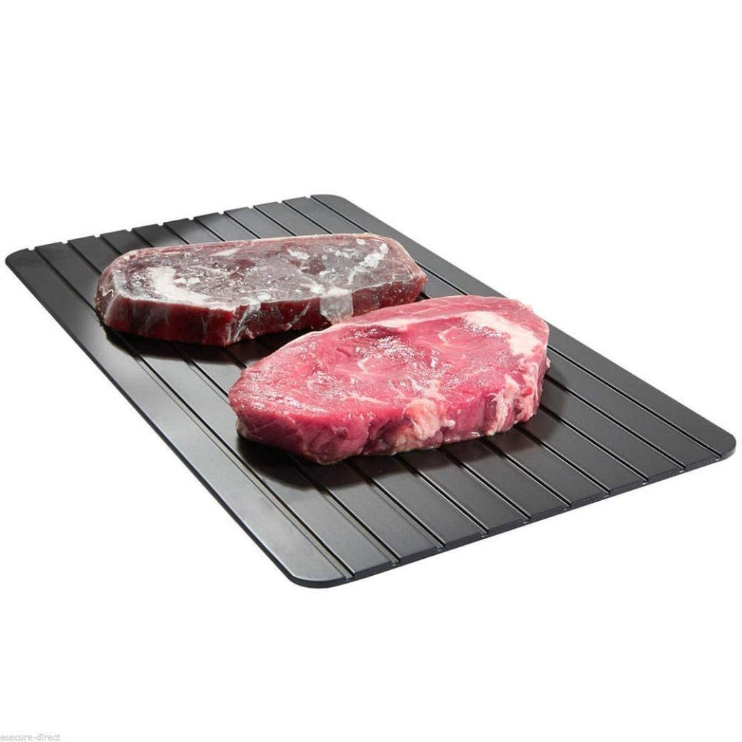 KCASA KG-01 Fast Defrosting Tray Defrost Meat Thaw Frozen Food Magic Kitchen Defrosting Tray