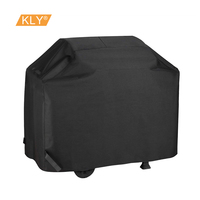 Polyester coated PU cream-colored Outdoor waterproof grill cover