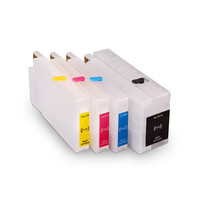 Ocinkjet 711 Empty Refillable Ink Cartridge With Permanent Chip Refillable Ink Cartridge For HP T120 T520 Printer