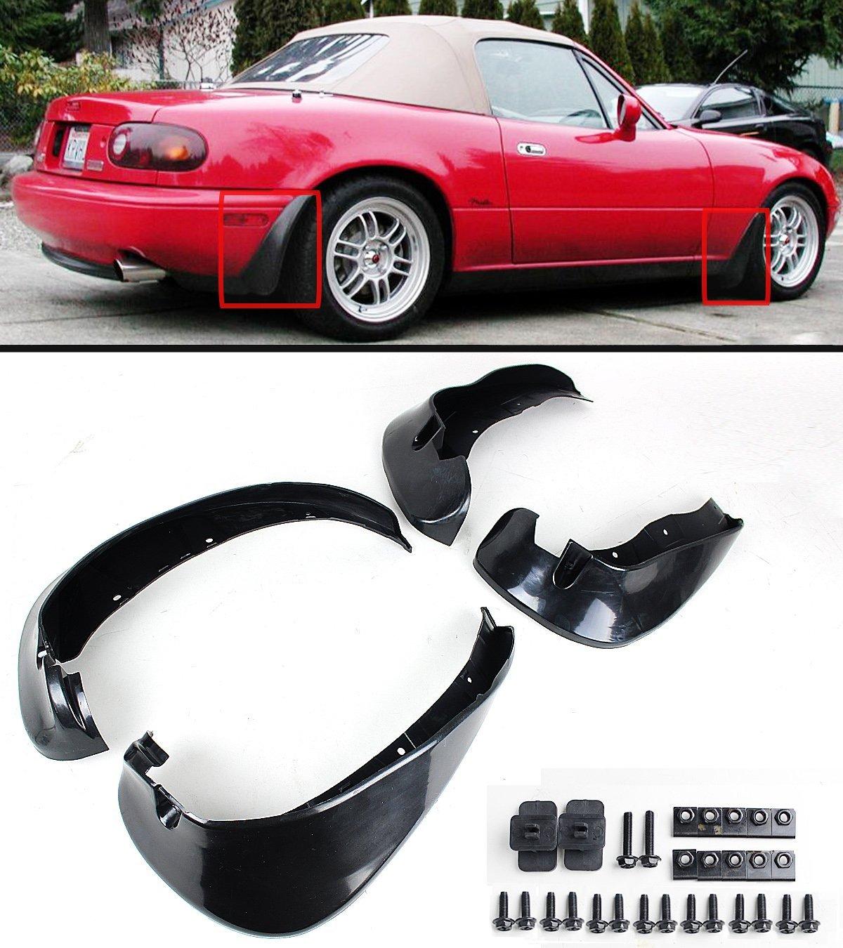 Spec-D Tuning Mazda Miata 1990 1991 1992 1993 1994 1995 1996 1997 Altezza Tail Lights Black