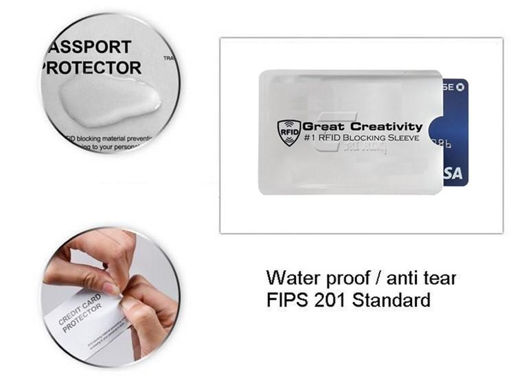 3a5f90889b8b 10 X Rfid Blocking Id Credit Card 2 X Passport Secure Sleeve Protector  Holder Shields Anti Theft - Buy Rfid Blocking Sleeves Card Sleeve,Rfid  Blocking ...