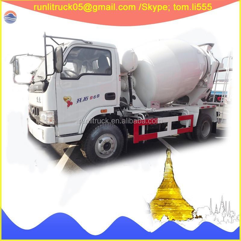China Concrete Mixers Supplier For Iveco Yuejin Nj5100gjb Mini ...