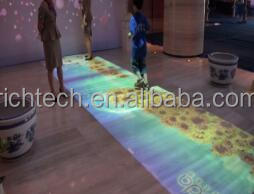 interactive floor projector system for shopping mall,real estate