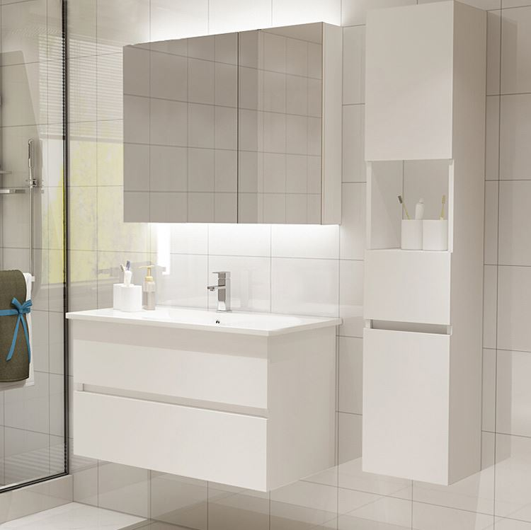 Morden New <strong>Design</strong> Small White Bathroom Vanities
