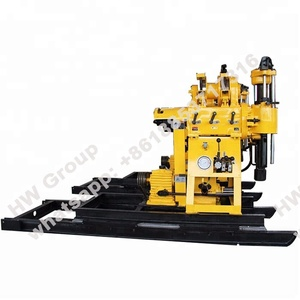Water well rig drilling machine with portable movable wheel