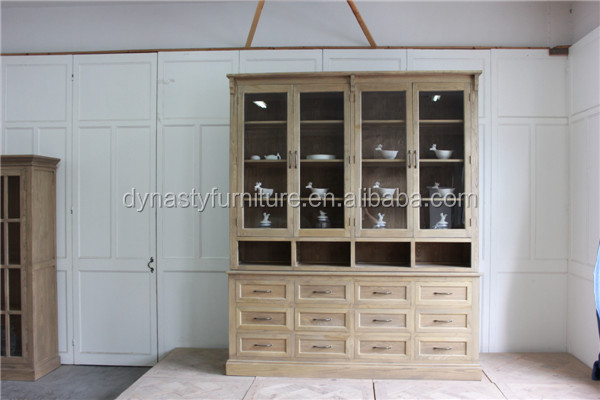 french rustic style luxury wooden kitchen <strong>cabinet</strong>