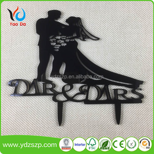 Wedding party decoration cake topper