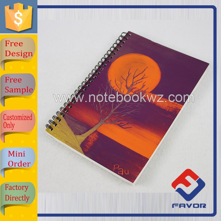 buy notebook china customized spiral notebook color pages for office