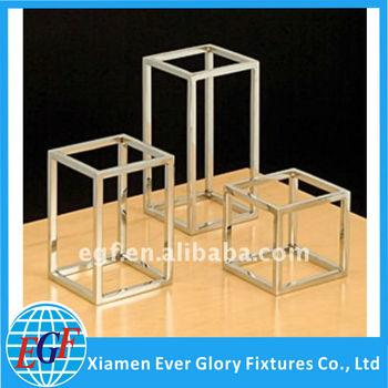 Fully Welded Table Top Metal Display Risers