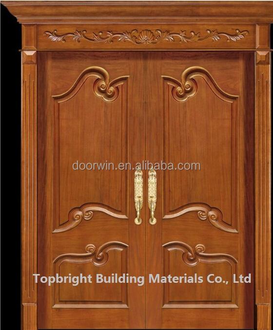 best exterior solid teak double wood main door design models price