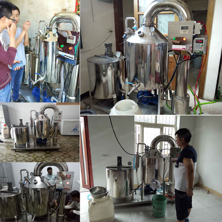 1.5 tons electric honey moisture removal machine from china