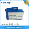 Shenzhen protection small rechargeable 1800mAh 7.4v lipo battery