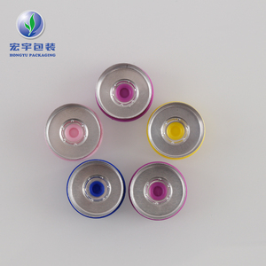 China factory supplied top quality 2ml vial flip off cap 20mm caps plastic aluminum for sale