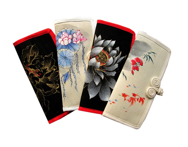 Chinese style coin purse fashion unique lady wallet