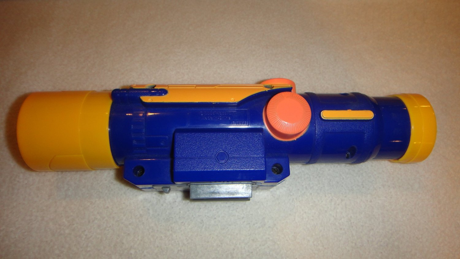 NERF LONGSHOT CS-6 BLUE AND YELLOW SCOPE, NERF SCOPE ONLY NO GUN