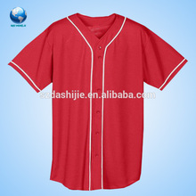 Sublimated plain baseball wear designer printed baseball t shirt camo baseball shirt suit