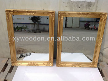 Antique wood wall mirrors decorative cheap buy wall for Affordable decorative mirrors