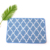 Extra long flower bathroom waterproof non slip microfiber bath mat