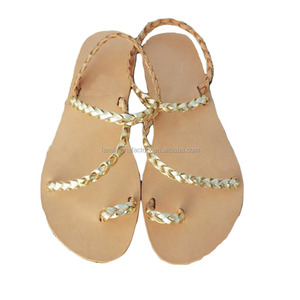 Greek Lace Sandals Summer Leather Fashion Up On0w8Nvm