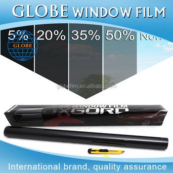 Diy Pre Cut Car Window Tinting Kits Car Window Tint Dyed Pro Black 5