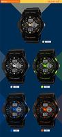 Skmei Digital Watch Instructions Manual Analog Digital Sports ...