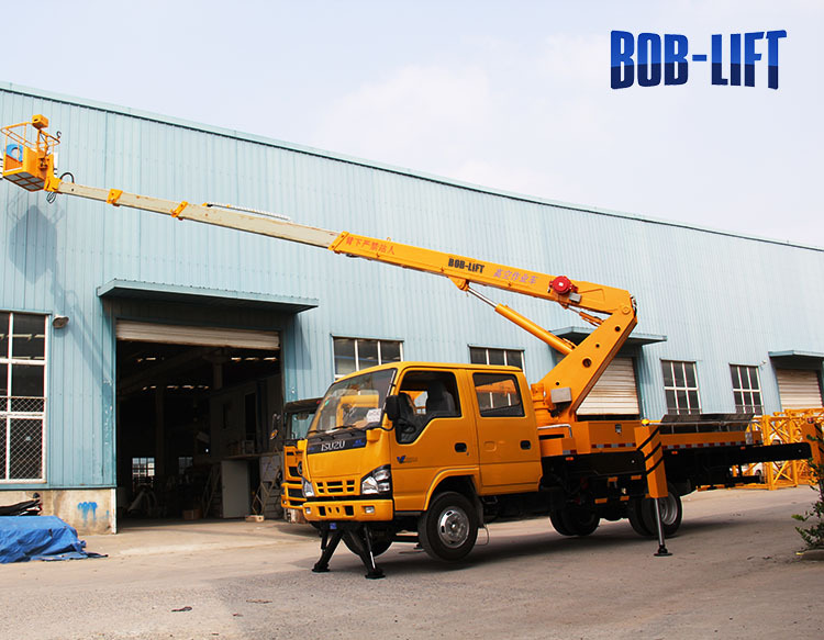 Made In China Mobile Crane Truck For Rent Bridge Inspection ...