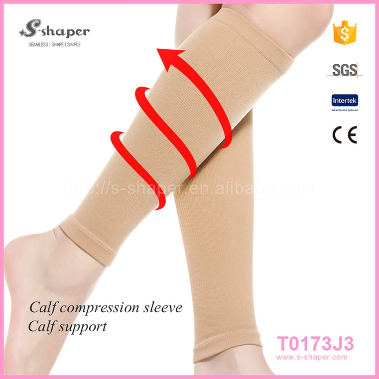 Different Color With S,M,L Size Product Calf Compress Leg Sleeves