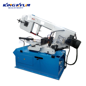 KK- 460G PLC control circular metal sheet table power saw machine with measure system