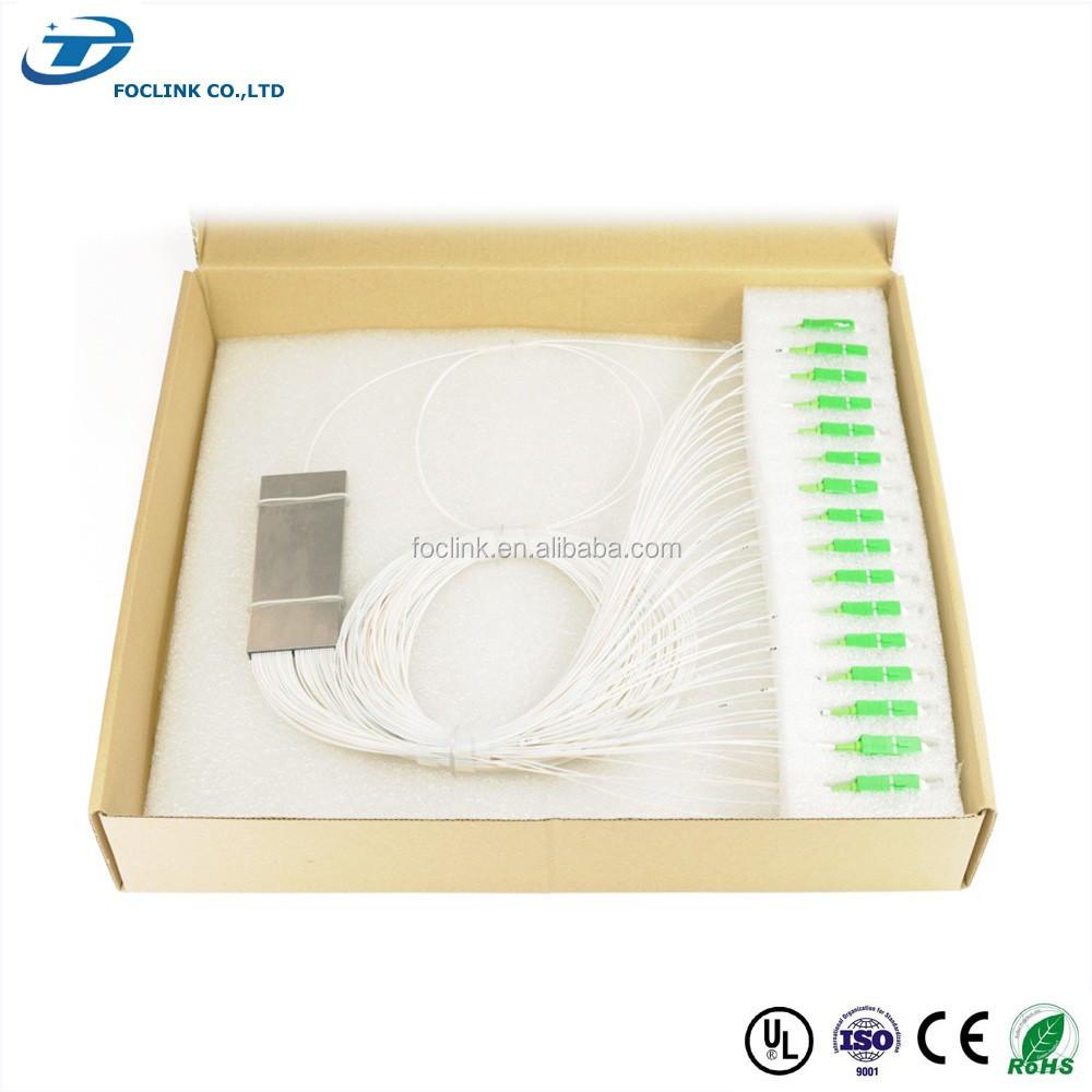 China Fiber Optic Internet Splitter 1x8 Planar Lightwave Circuits Optical Plc Ftthcatv Manufacturers And Suppliers On