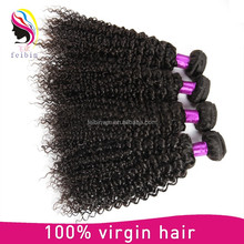 100% raw unprocessed virgin malaysian hair kinky curl human hair weaving