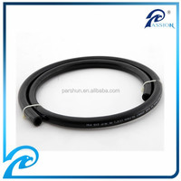 Anti-aging, wear and oil resistant smooth cover black rubber fuel hose with many specifications