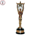 Factory Custom made best home decoration gift polyresin resin life size oscar statue
