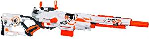 NERF N-STRIKE Limited Edition Whiteout Series Longstrike CS-6 Blaster