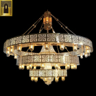 Pendant Light Lighting Chandelier Exquisite Decorative Luxury Gold Hanging Arabian Moroccan Lighting Crystal Pendant Light Antique Arabic Style Mosque Chandelier