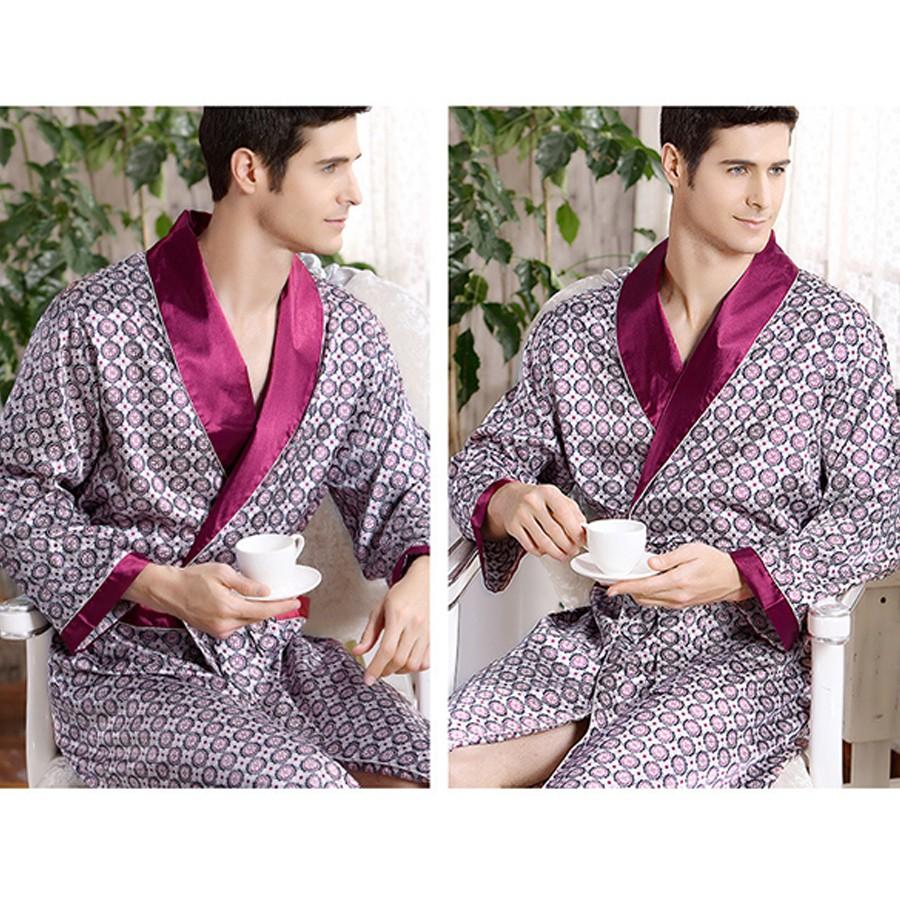 84497a906 Compre Ens Roupões De Banho De Luxo Pijamas Masculino 2016 Novos ...